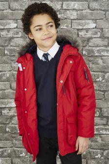 Parka Jacket (3-16yrs) | Boys Fashion | Pinterest | Boy fashion ...