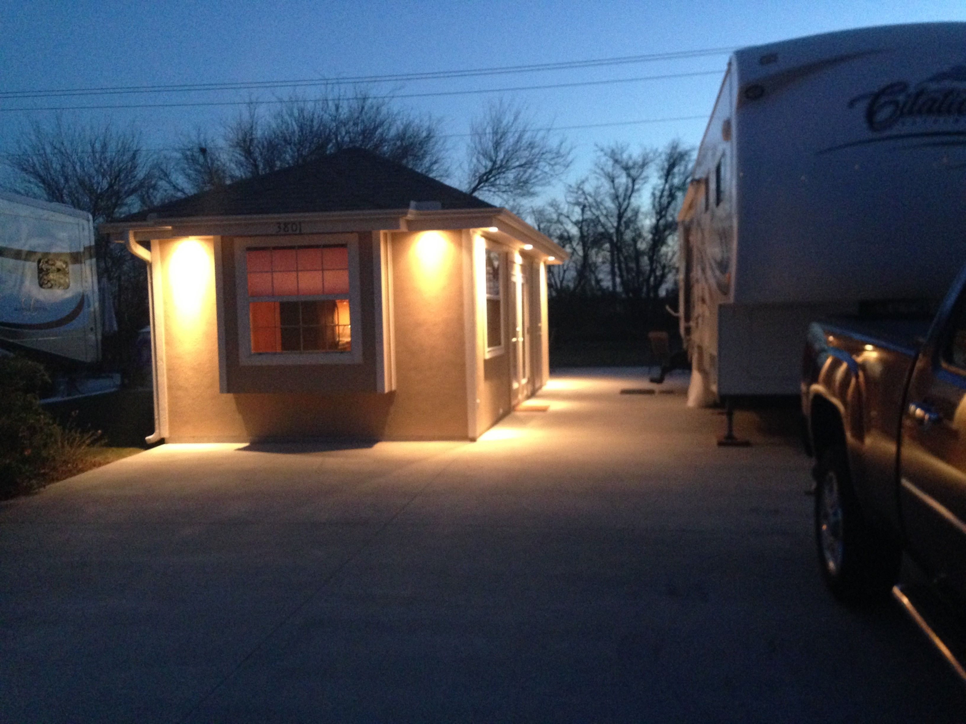 This RV Lot is located in south Texas' premier 55