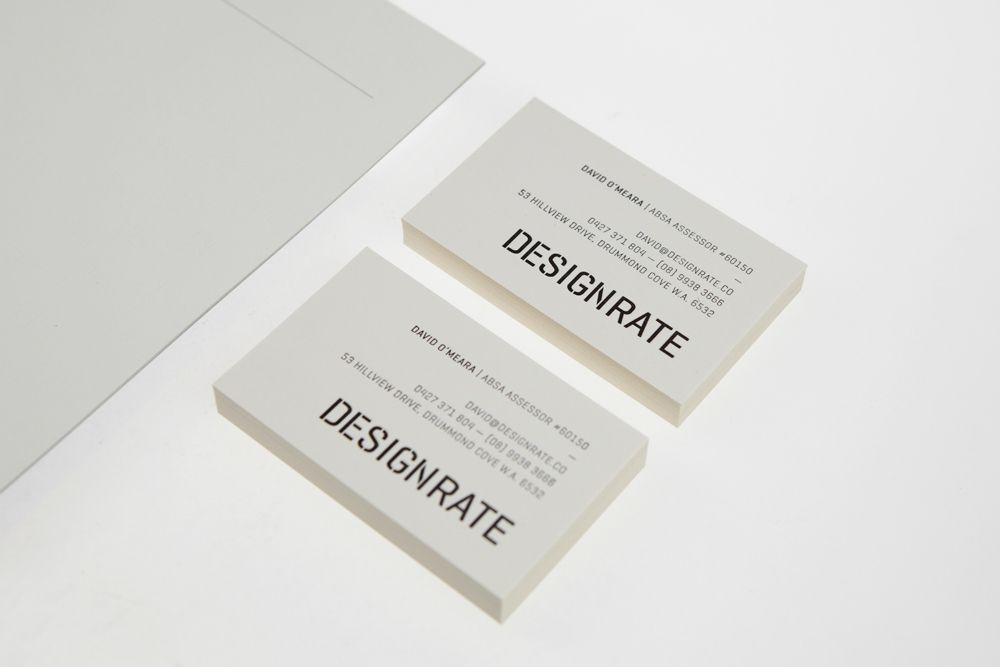 Designrate Andrews Co Business Card Design Inspiration Creative Cards Premium Business Cards