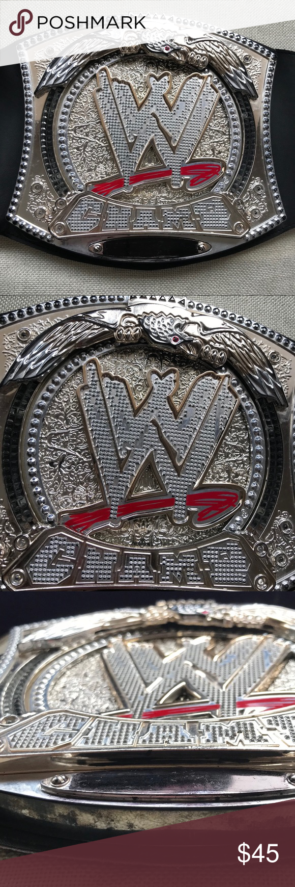 Wwe Championship Belt 2010 John Censa 38 Belt Wwe John Cena 2010 38 Spinner Belt Rare Tested Bat Wwe Championship Belts Accessories Italian Charm Bracelet