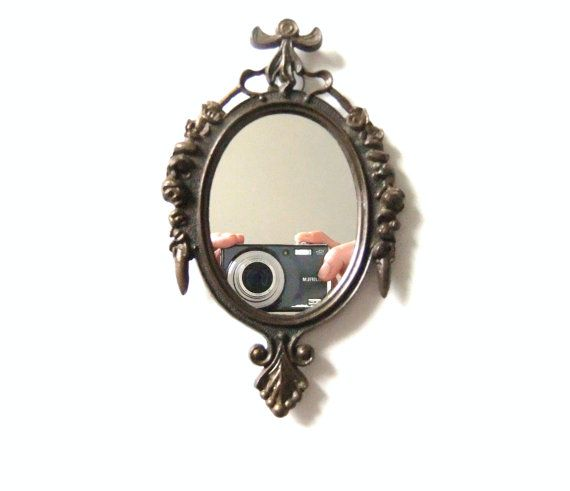 Vintage Small Mirror Made in Italy Mirror Decor by VintageByJade