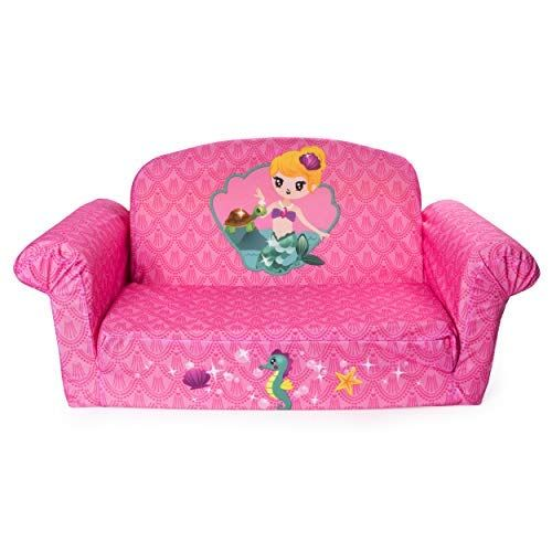 Tremendous Marshmallow Furniture Childrens 2 In 1 Mermaid Flip Open Machost Co Dining Chair Design Ideas Machostcouk