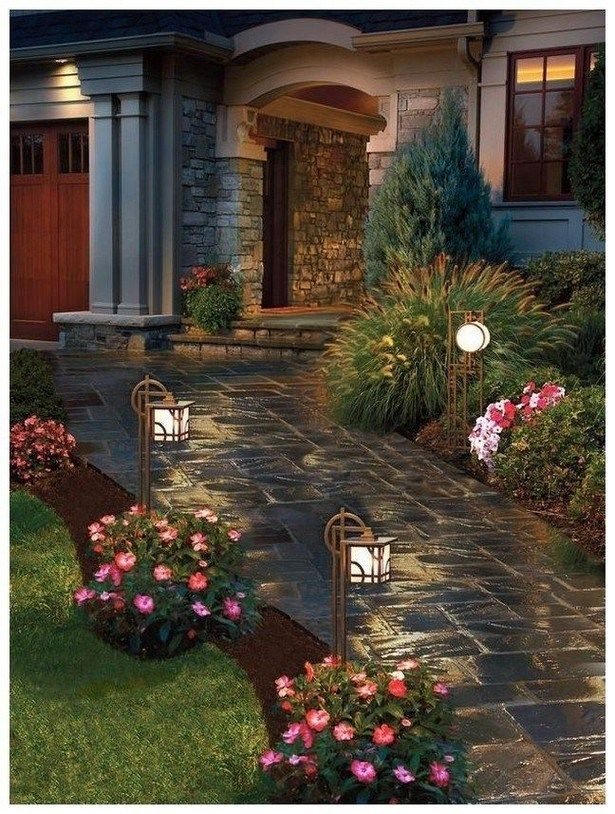 70+ Fresh and Beautiful Side Yard Landscaping Ideas on a ...