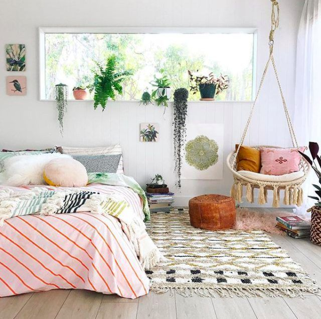 Gorgeous Ways To Incorporate Scandinavian Designs Into: 15 Boho-Chic Ways To Incorporate Greenery Into Your Home