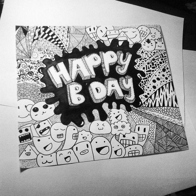 #happy #birthday #ciella #iloveyou #draw #drawing #doodle