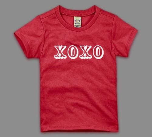 Xoxo Valentines Day Shirt Cute Valentines By Birthdaycouture 25 00