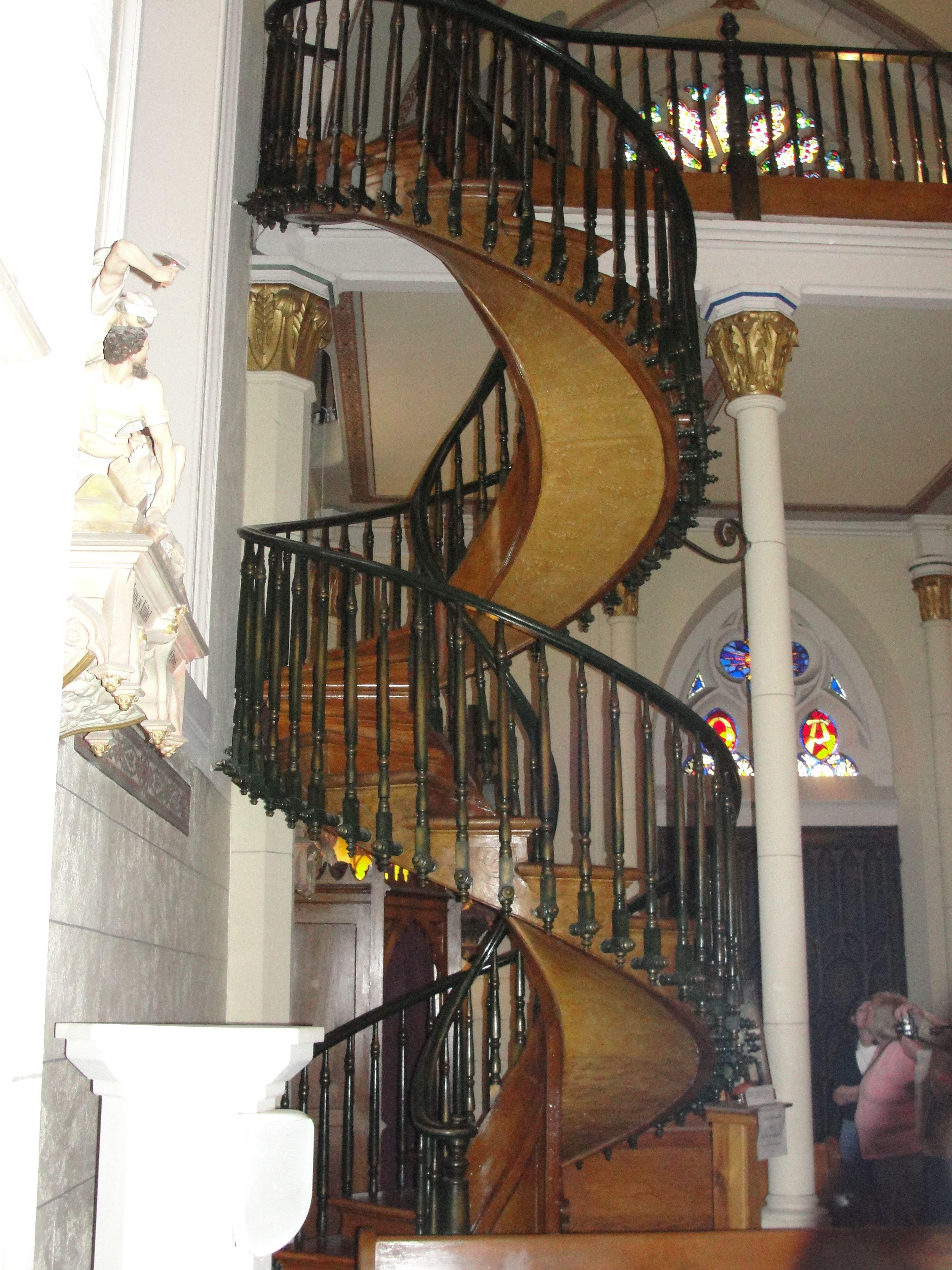 Best Miraculous Stairway Loretto Chapel Santa Fe Nm Amazing 400 x 300