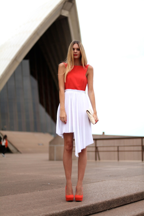 Red + white = perfect