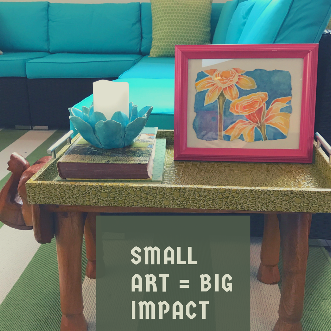 How To Decorate A Small Space In Your Home With Big Impact