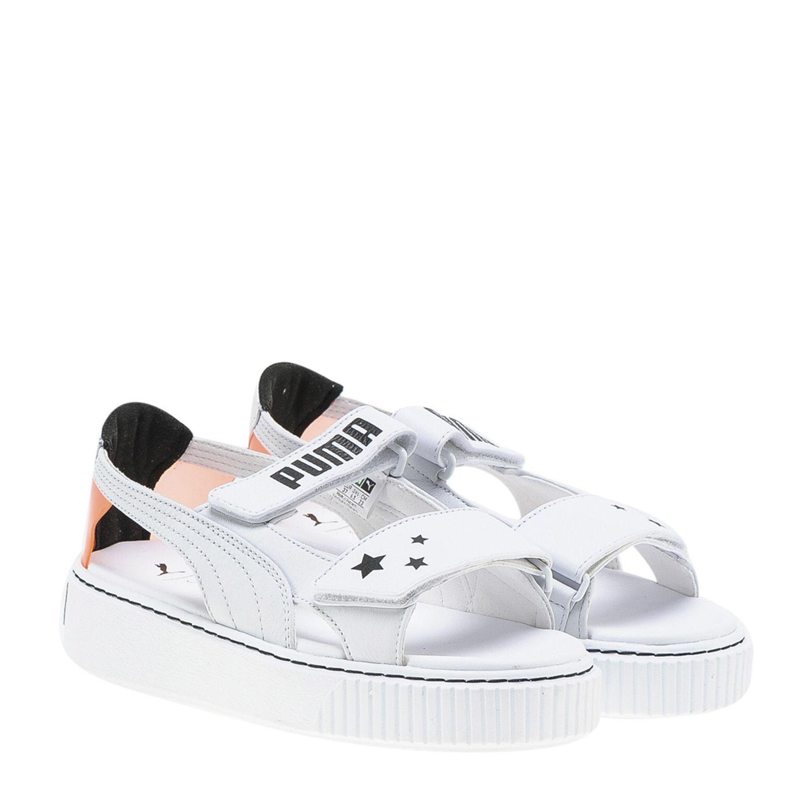 f8dd7c3f17f212 SOPHIA WEBSTER X PUMA PUMA X SOPHIA WEBSTER OPEN TOE STRAP SNEAKERS.   sophiawebsterxpuma  shoes