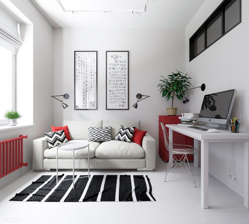 3 Small Apartments That Rock Uncommon Color Schemes [With Floor ...