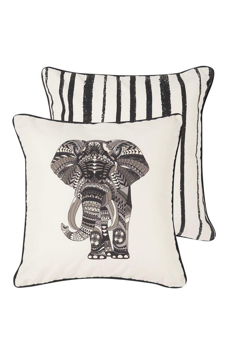 Primark - Sierkussen met olifantprint, omkeerbaar   Primark wishlist ...