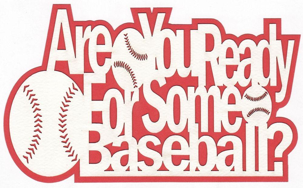 Baseball Scrapbook Paper Google Search All About Baseball