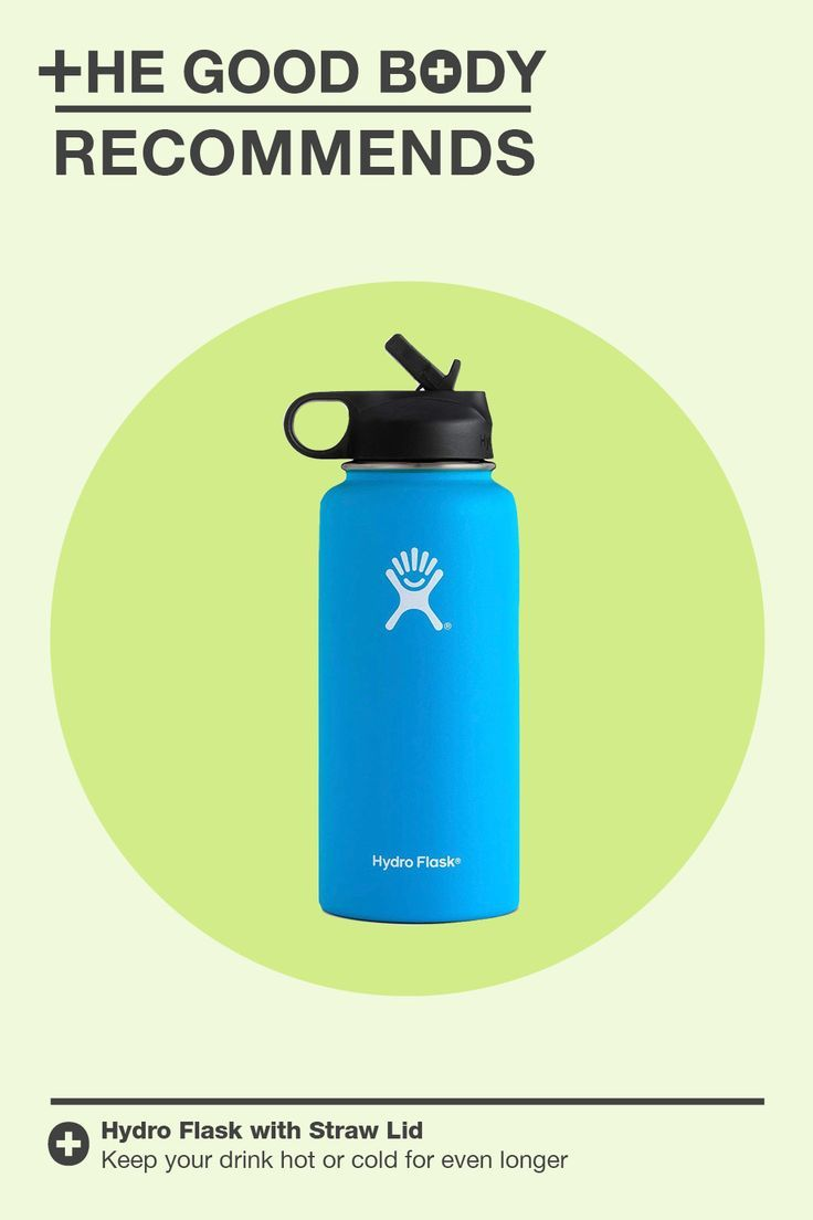 Hydro Flask Vacuum Insulated Stainless Steel Water Bottle has a double-walled vacuum insulated surro...