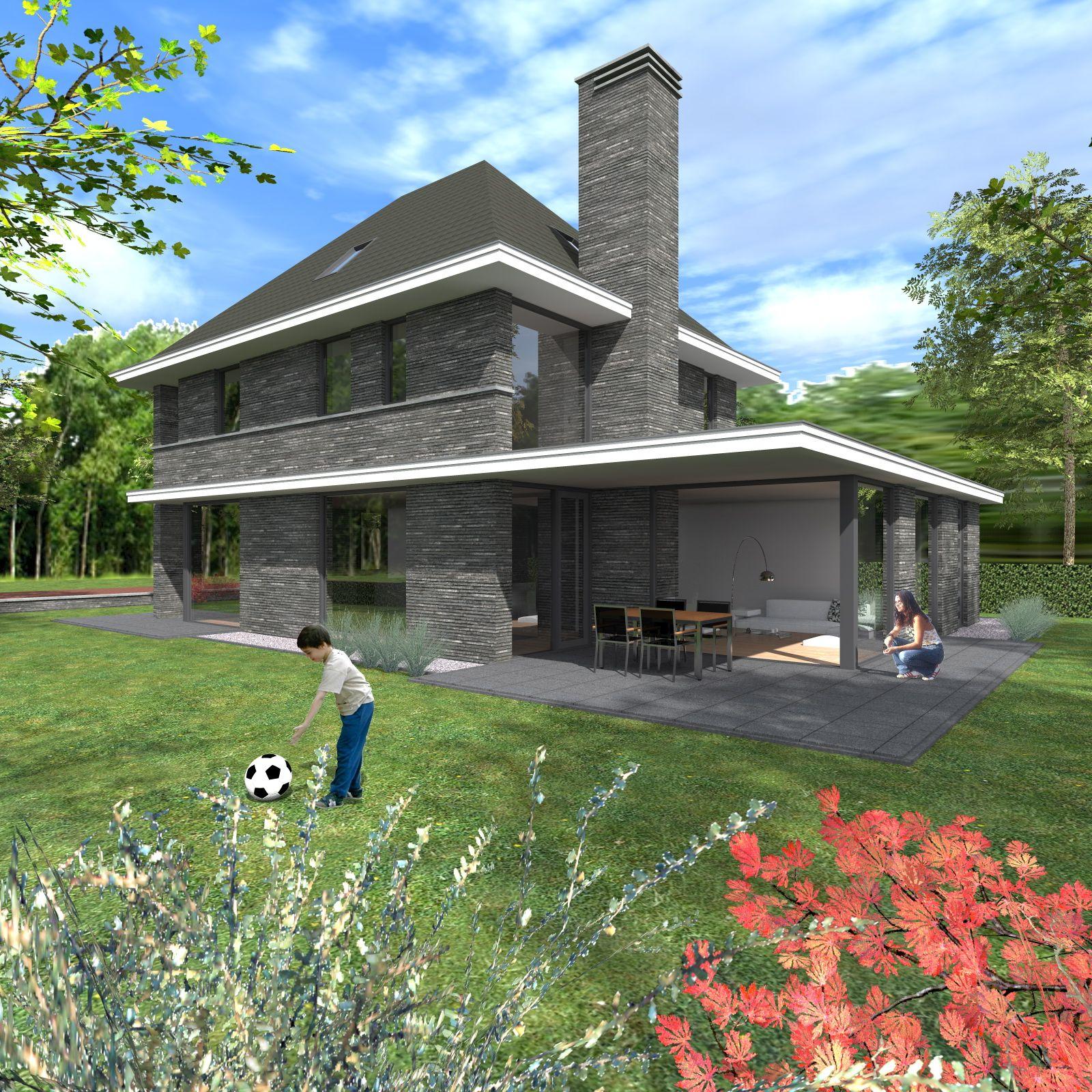 Ontwerp jaren 30 woning woonhuis pinterest ontwerp for Huis ontwerpen