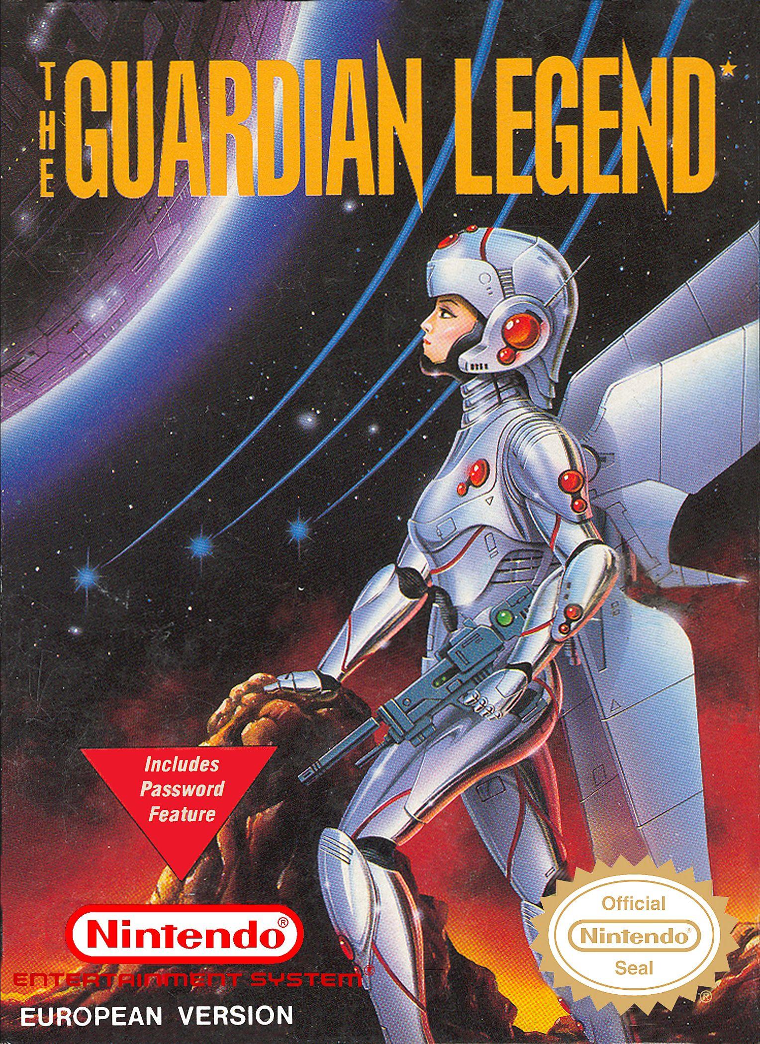 Guardian Legend Nes Game Illustration Retro Video Games