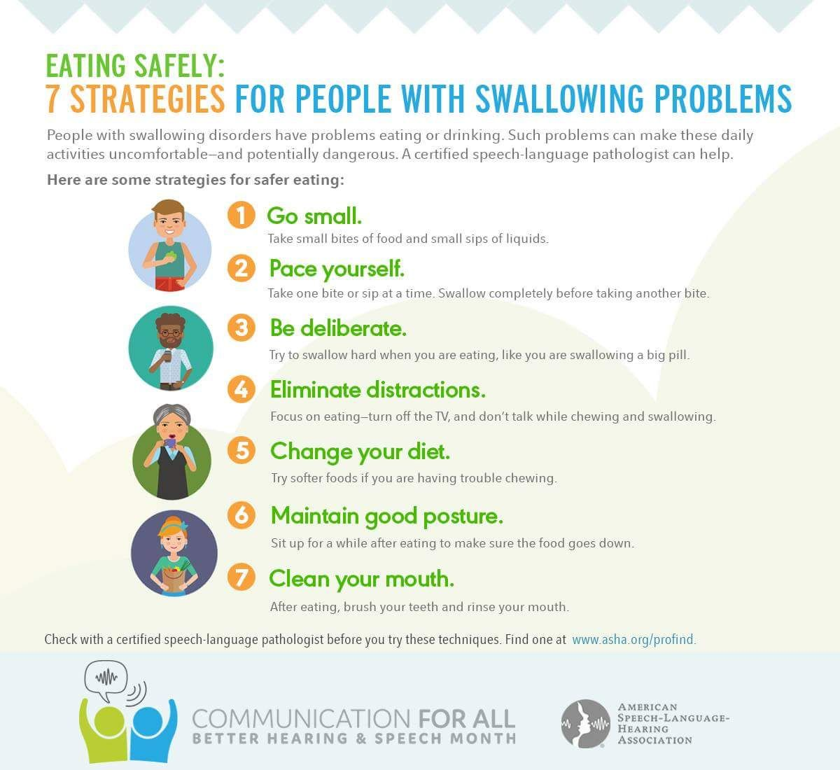 7 Strategies For Eating Safely