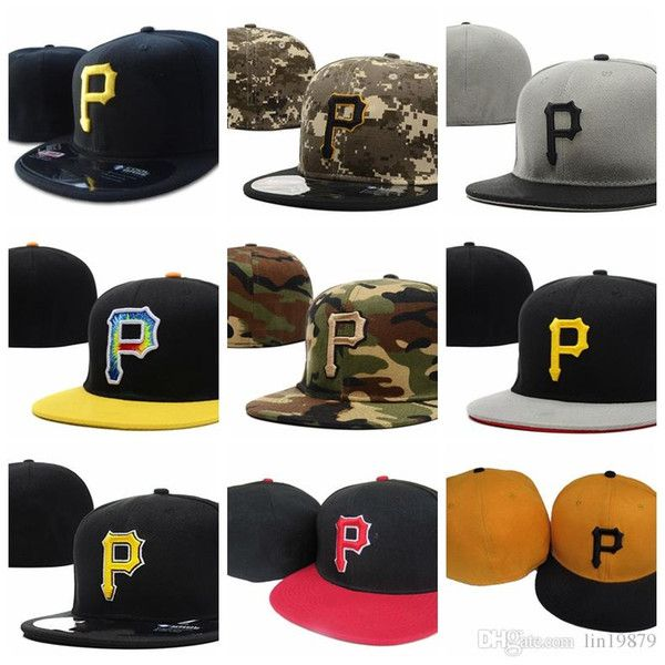 Mode 2019 neu in Piraten P Brief Baseballmützen Bone Gorras Männer Hip Hop Sport ausgestattet Hüte Meine Caps haben eine gute Qualität und einen g&uum...