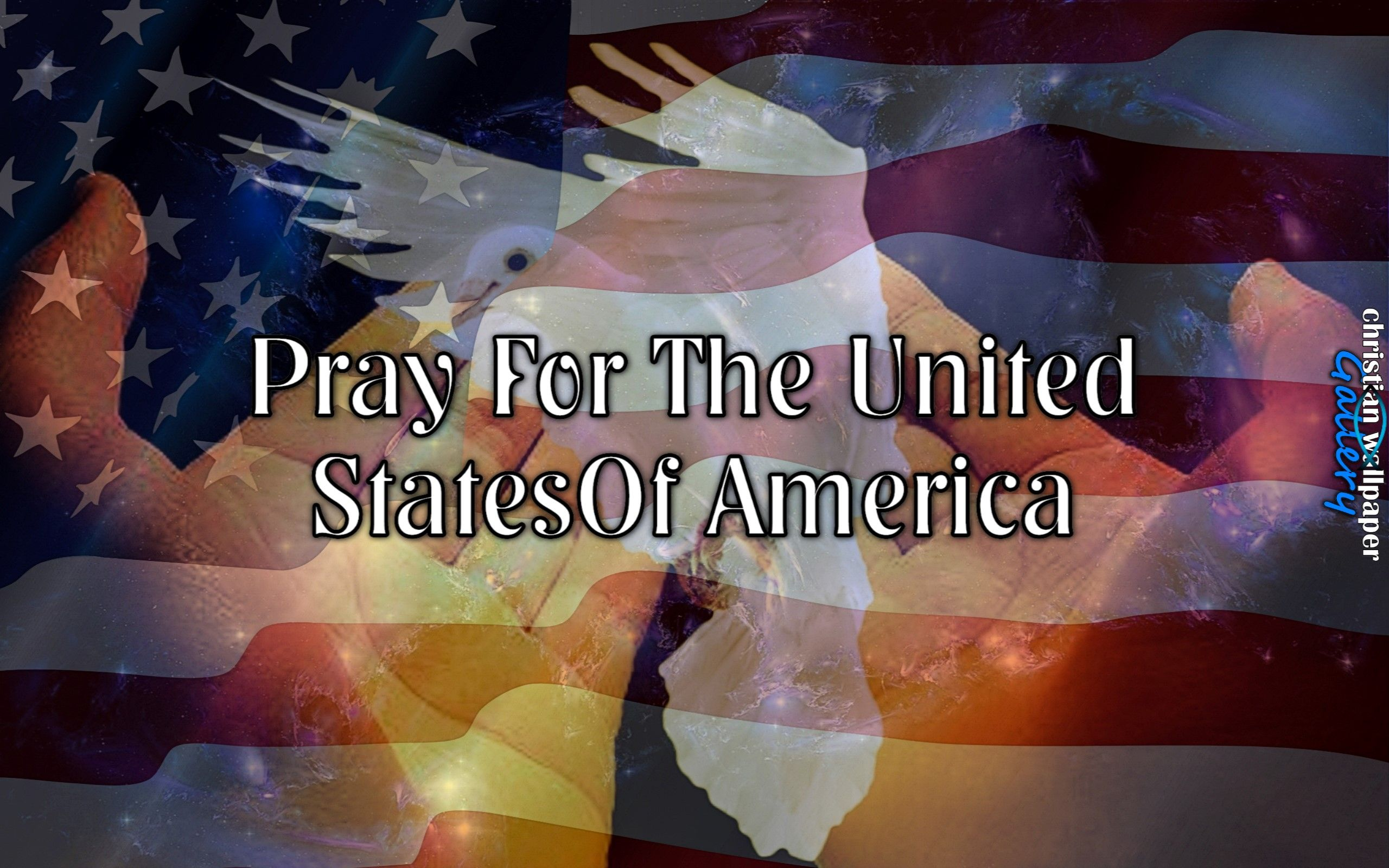 Pray For The United States Of America Christian