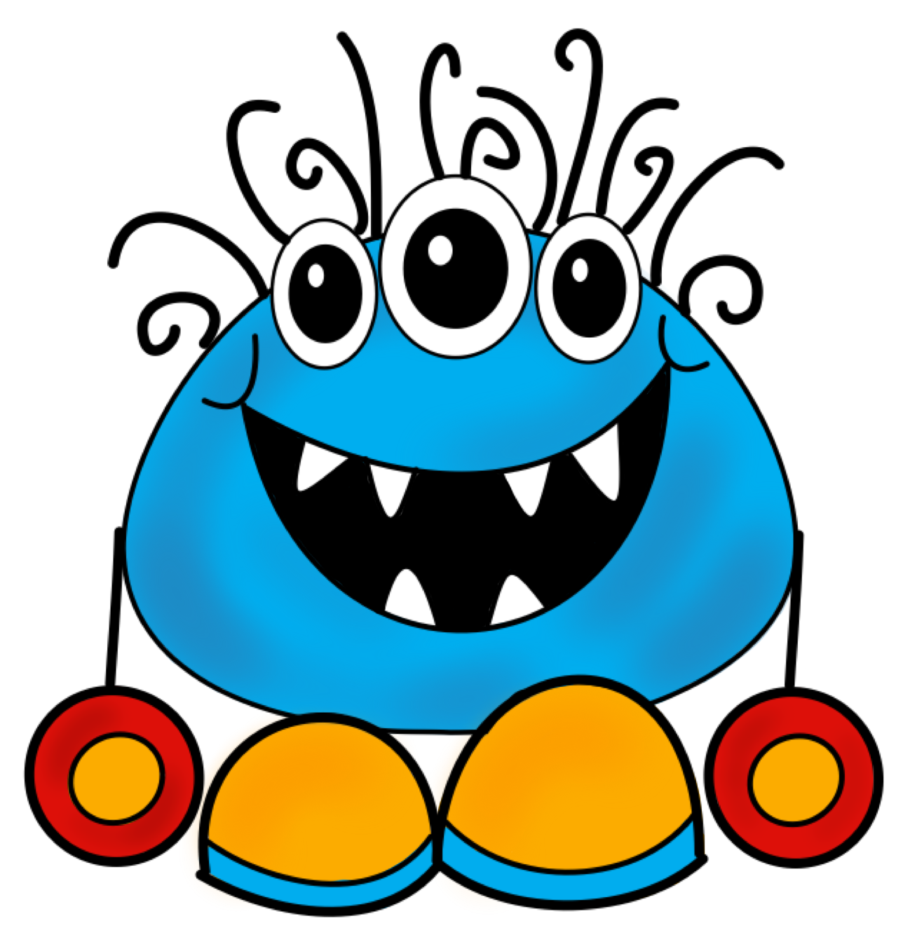 Uncategorized Monster Pictures For Kids monster clipart for kids goofy clip art image the creative chalkboard day 2 freebie writing pages and new clipart