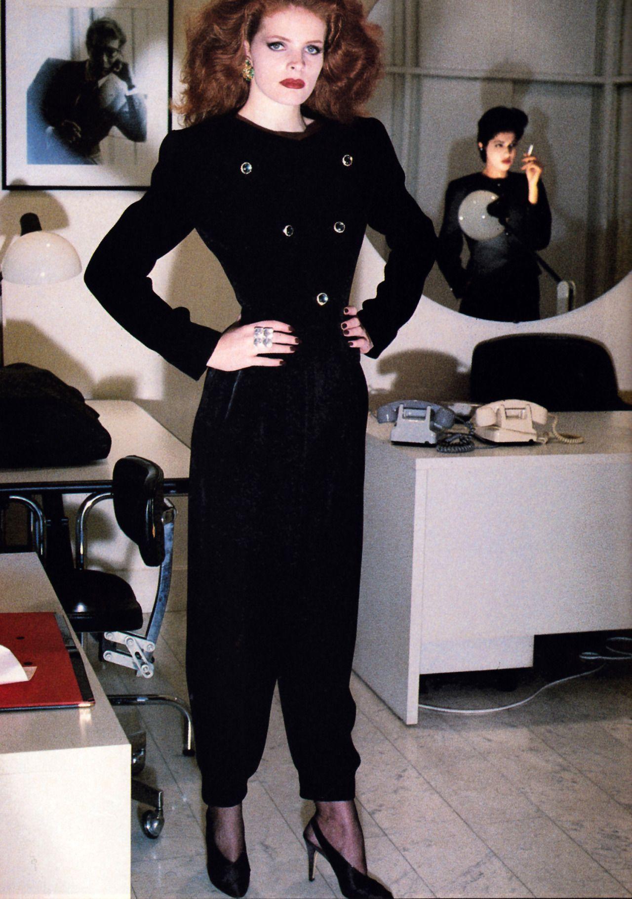 Yves Saint Laurent Rive Gauche American Vogue March