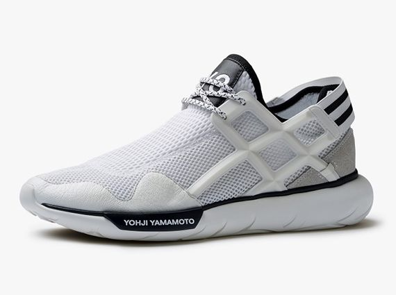 Real Stylish Adidas Y 3 Qasa Racer BlackBlackBlack