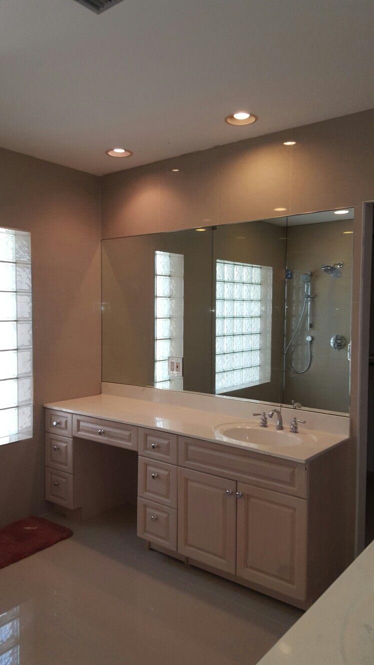 flat polished mirror custom mirrors mirror bathroom on custom bathroom vanity mirrors id=70017