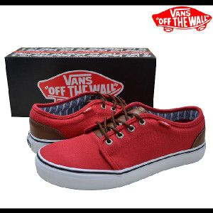 753a290c20 VANS 106 Vulcanized 106 VN-0VHNAQO (Camp L) Chinese RedStripes   buddy-stl vans-053  -  39.99   Vans Shop