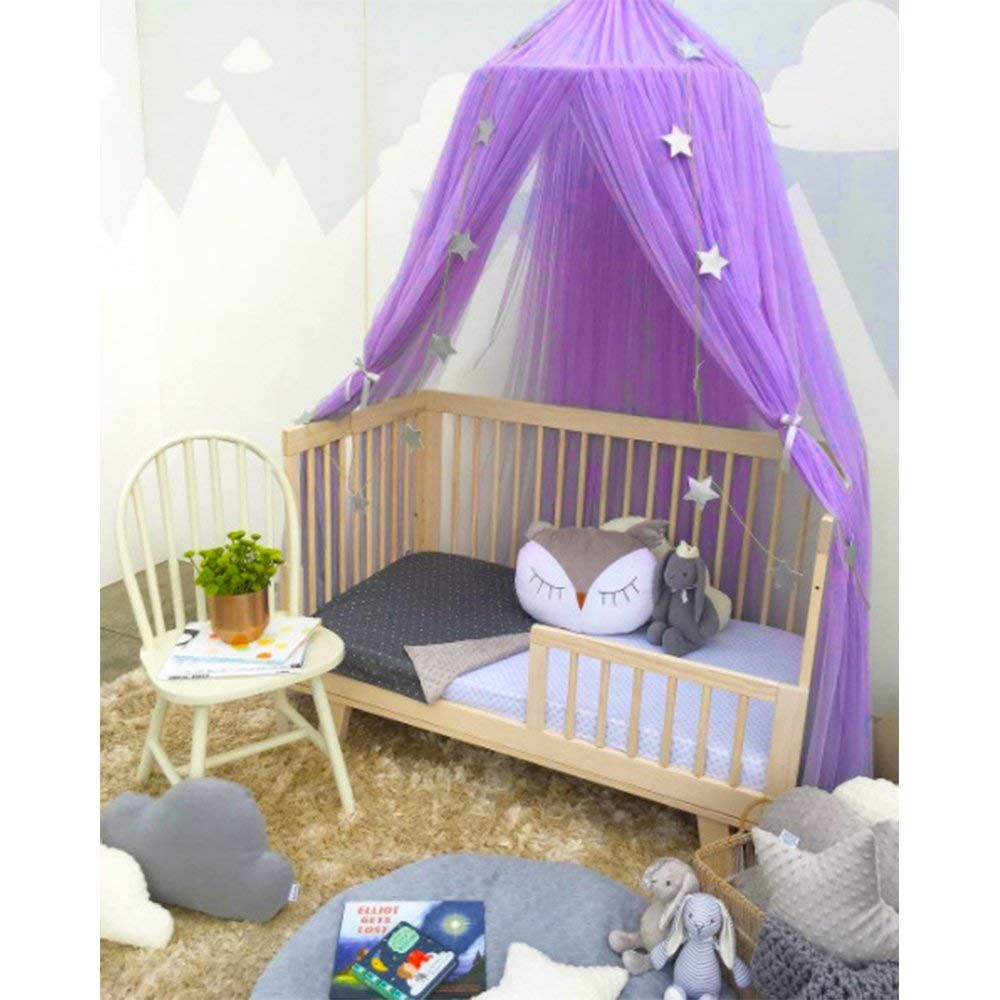 Dieser schöne Kinderzimmer Baldachin kann super für die