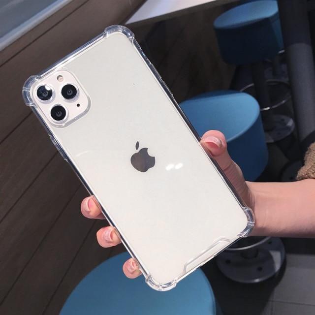 Transparent Shockproof Case for iPhone - for iPhone 7 8 / Ttransparent
