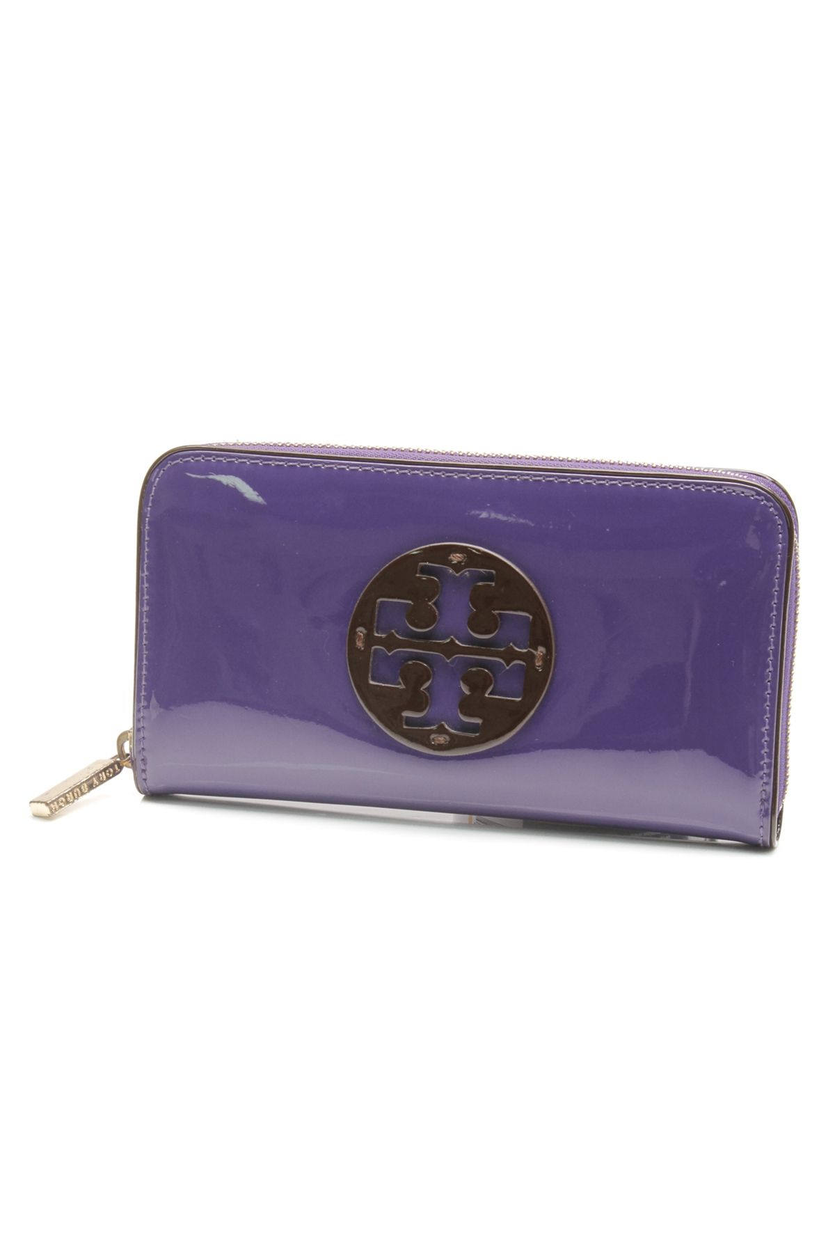 3e03fe771 Tory Burch purple patent leather wallet (our price   89.99)