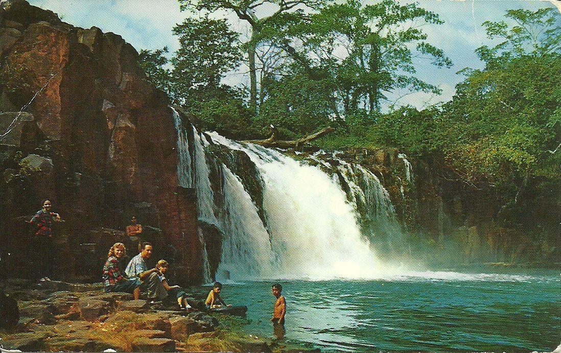 Chorrea Falls near LA Chorrera Panama My trips as a sailor