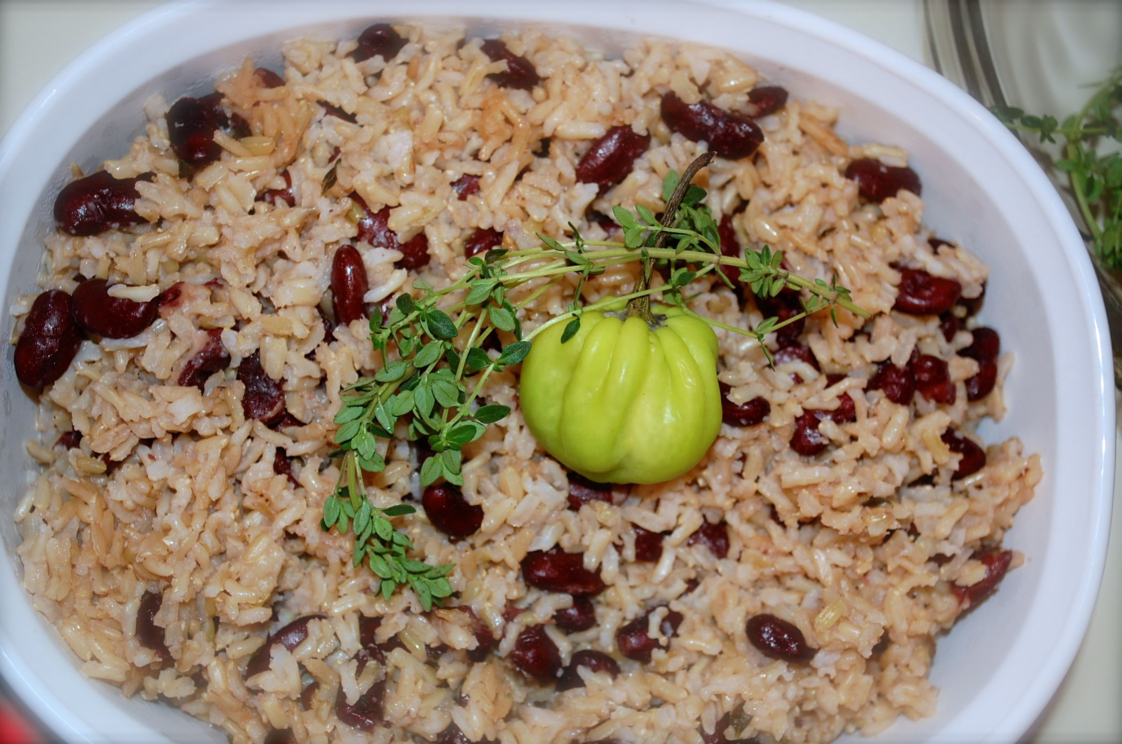 jamaican rice and peas  jamaican recipes pea recipes