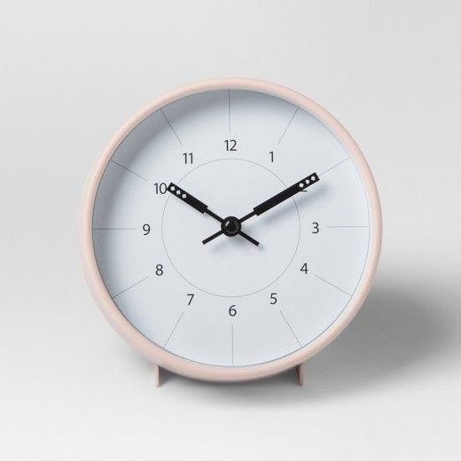 Exceptional Add A Rosy Pop Of Color To Any Room With This Pink Decorative Clock From  Project