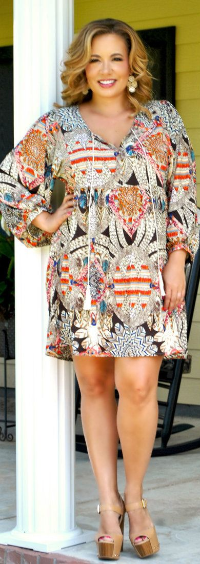 Perfectly Priscilla Boutique - Word Around Town Dress, $50.00 (http://www.perfectlypriscilla.com/word-around-town-dress/)