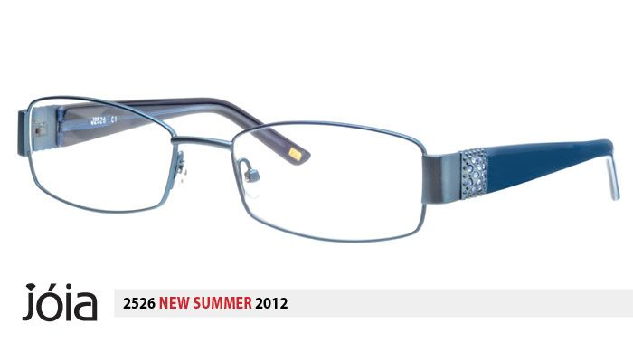 df2f820f94bf Brand new Classic style JOIA 2526 Glasses for Women in Light Blue color  with Metal frame full-rim glasses are on sale at Ispecs online store for  cheapest ...