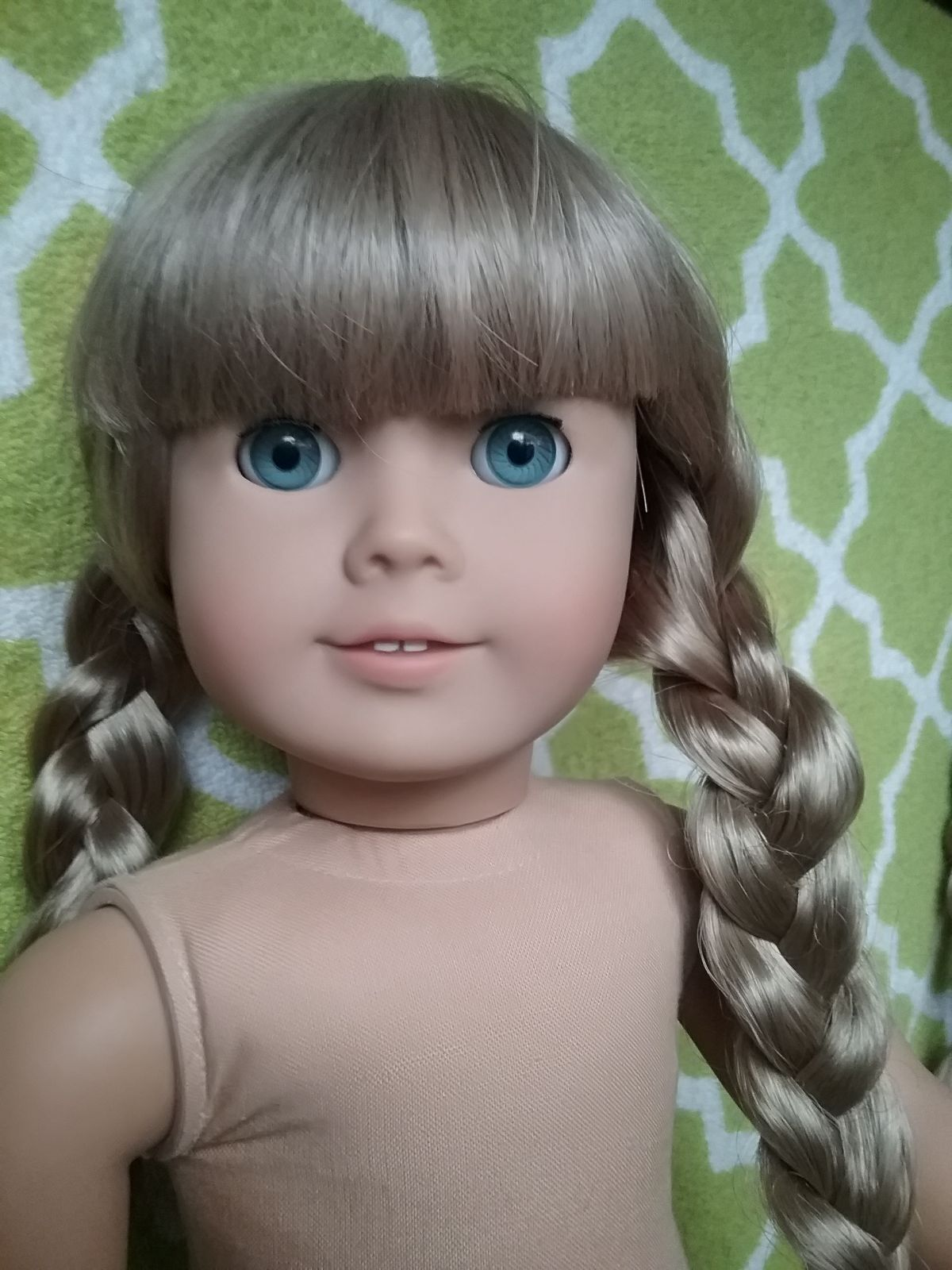 American Girl Doll Neck Stamp : american, stamp, Vintage, Kristen, Pleasant, Company, Stamp, Condition, Clean, Marks,, Ti…, American, Girl,, Doll,