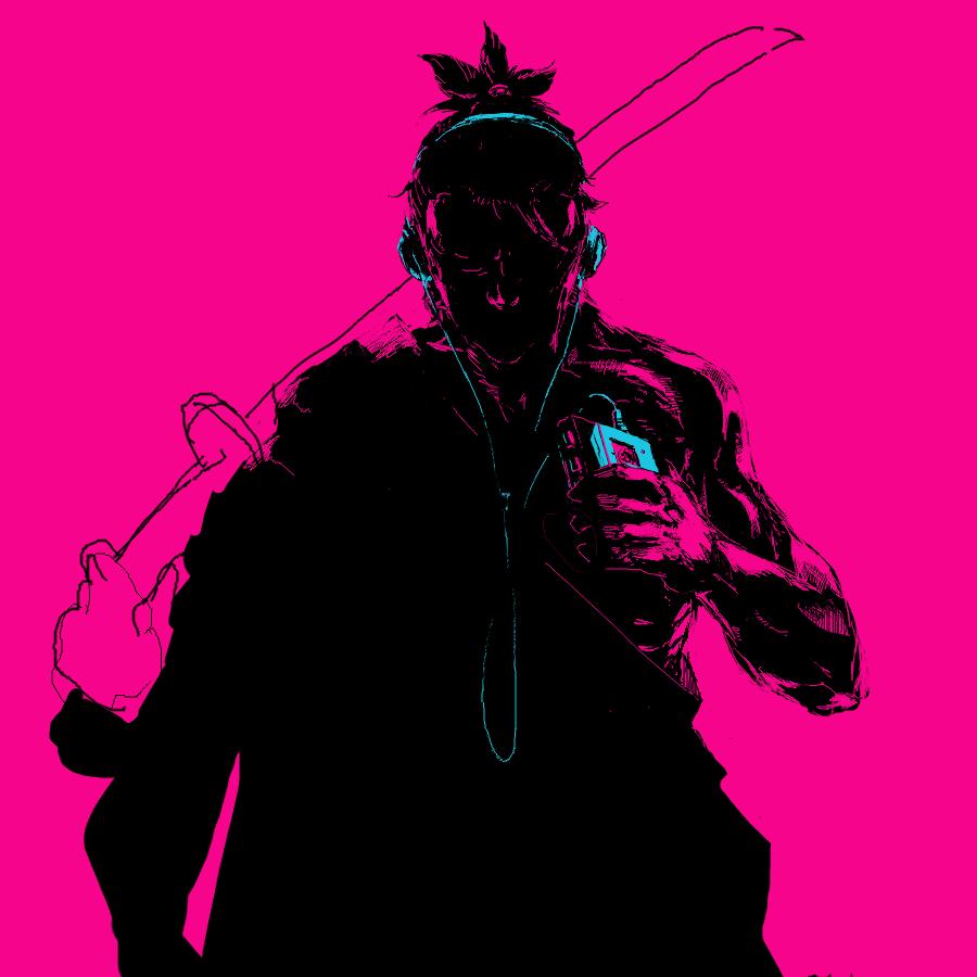Unfinished Katana Zero Concept Piece Since I Godsavant Katana Cyberpunk Aesthetic Art