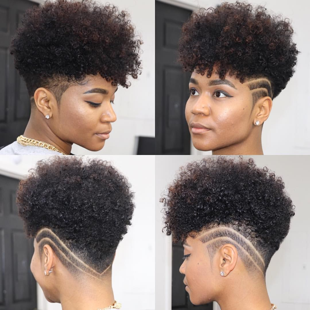 Your tapered natural hair is truly a beautiful statement piece