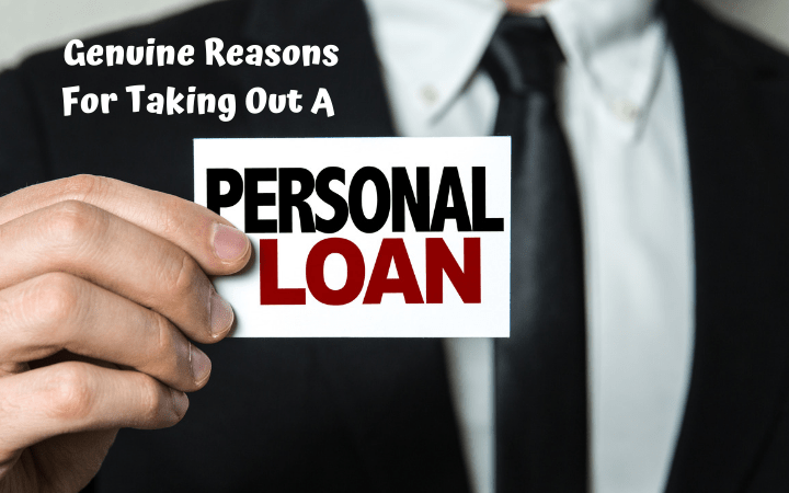 Genuine Reasons For Taking Out A Personal Loan Life With Heidi Personal Loans Finance Loans Loan