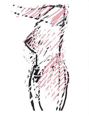 """Saatchi Art Artist Robert Dickhoff; Drawing, """"Nude"""" #art"""