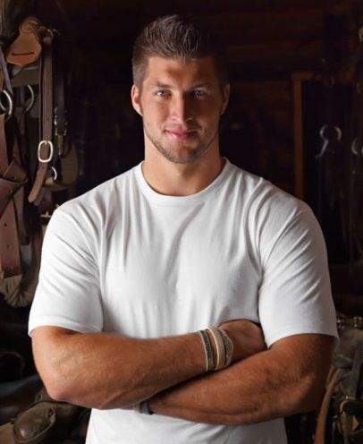 Tim Tebow.  Never get tired of seeing this incredible face.