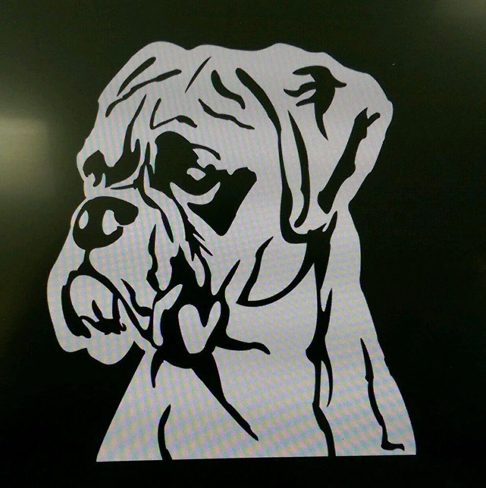 Peeking Boxer Decal Custom Vinyl Car Truck Window Dog Sticker Dog Stickers Custom Vinyl Decal Dog Breed Decal [ 1303 x 1411 Pixel ]