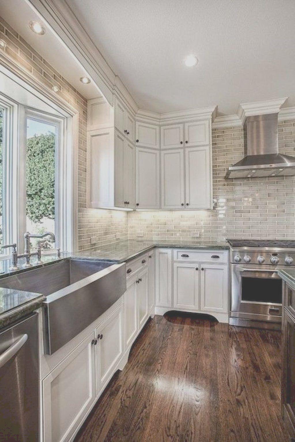 Adorable 80 Stunning Rustic Kitchen Cabinet Makeover Ideas Kitchen Backsplash Designs Kitchen Style Farmhouse Kitchen Design