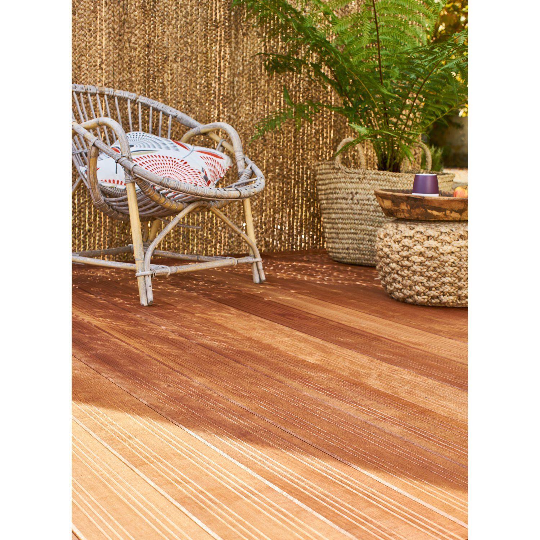 planche bois akola naturel  lame bois pour terrasse et
