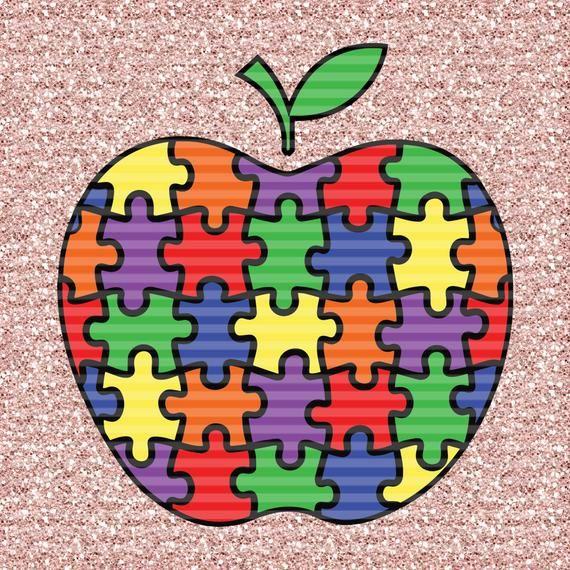 Puzzle Piece Apple SVG Puzzle piece tattoo, Puzzle