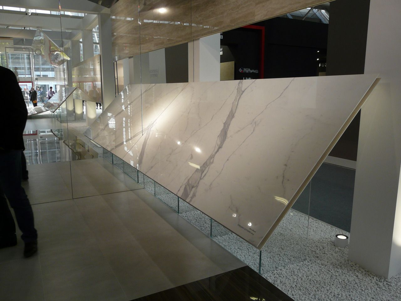 Ariostea | cersaie | Retail design, Tile design, Showroom