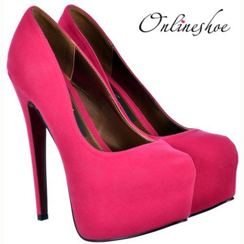 080d7c6c7fc7 Onlineshoe Women s High Heel Stiletto Concealed Platform Pump ...