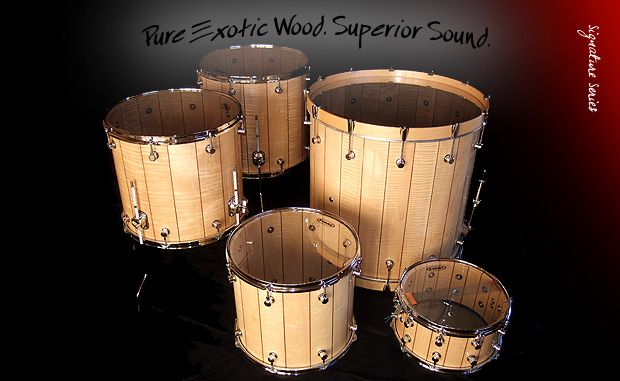 World S Finest Solid Wood Stave Drums Joshua Tree Percussion