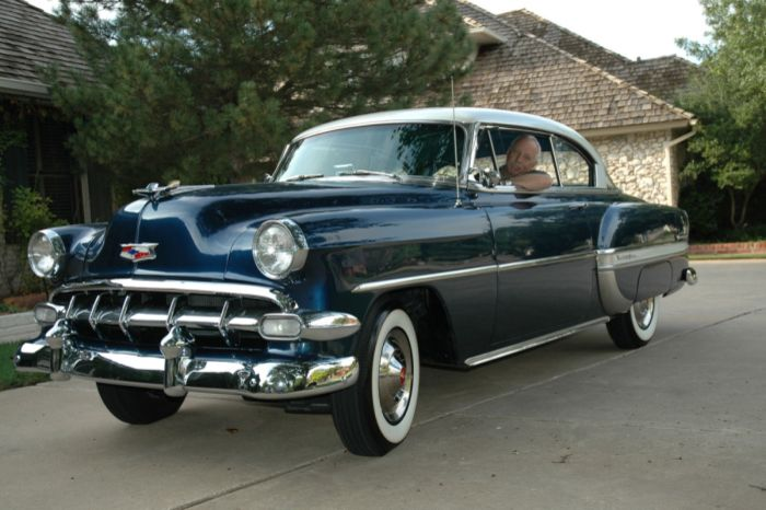 1954 Chevrolet Bel Air 2 Dor Hardtop My Grandpa S Was Pink And I